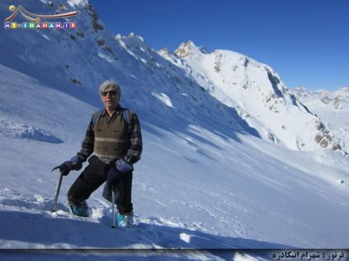 آقای محمد قلانی - کوهنورد فریدونشهری و گرجی